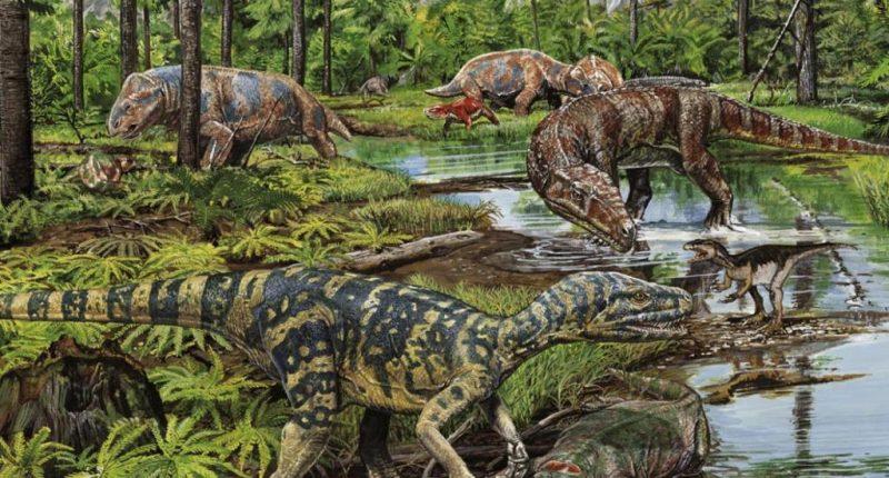 История динозавров: триасовый период