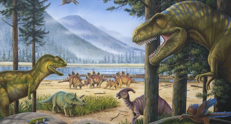 История динозавров: юрский период