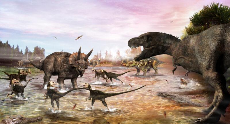 История динозавров: меловой период